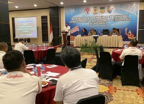 Sejumlah KONI Daerah Absen di Bimtek PON 2020