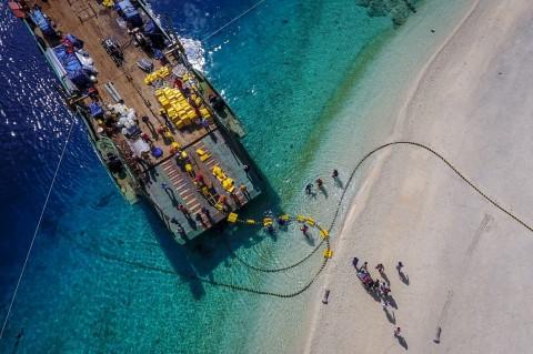 PLN Pasok Listrik Tiga Gili Lombok via Kabel Laut