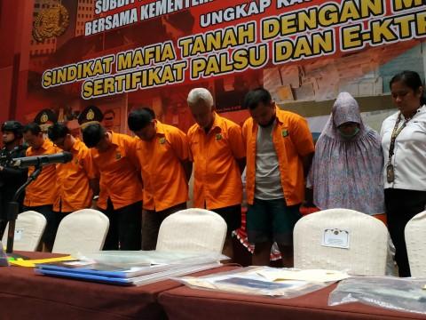 Polisi Bongkar Sindikat Mafia Tanah di Jakarta