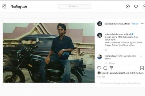Gaya Ustaz Abdul Somad Bersama Yamaha RX-King