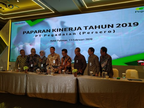 Laba Bersih Pegadaian Tumbuh 12% Sepanjang 2019