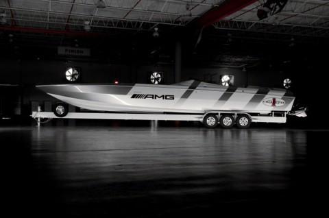 Kapal Cepat Mewah Hasil Kolaborasi Mercedes-AMG dan Cigarette Racing