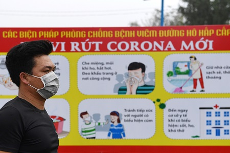 Hentikan Penyebaran Virus Korona, Vietnam Karantina Beberapa Desa