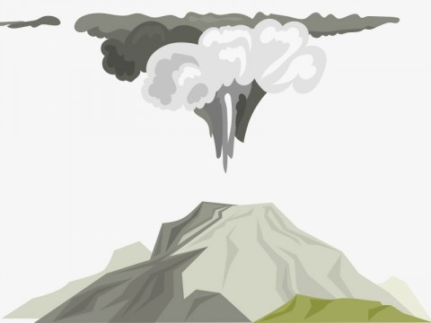Mount Merapi Eruption Causes Volcanic Ash Rain