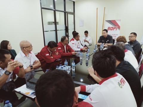 Jelang Kompetisi Liga 1 2020, LIB Audiensi dengan BOPI