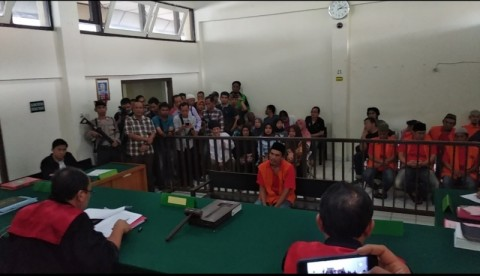 Pembunuh Sopir Taksi Daring di Palembang Divonis Mati