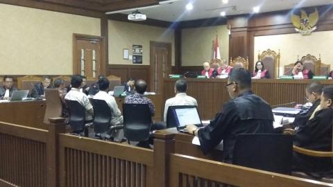 Wawan Minta Solusi Hakim Soal Denda Cicilan