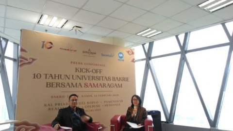 Festival 'Samaragam' Membuka Rangkaian 10 Tahun Universitas Bakrie