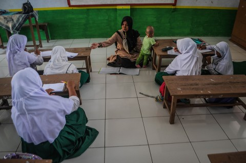 Duh, Gaji Guru Madrasah di Lebak Hanya Rp200 Ribu