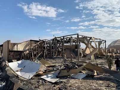 Rudal Tembaki Pangkalan Militer AS di Irak
