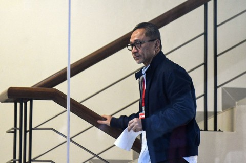 KPK Berpotensi Konfrontasi Zulhas dan Annas Maamun