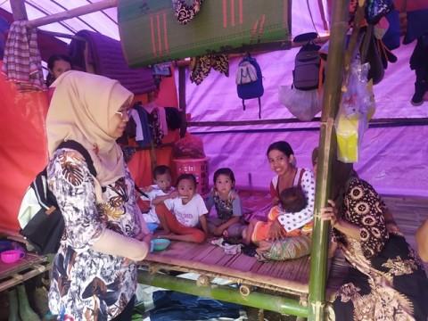 KPAI Sebut Pelayanan Kesehatan di Pengungsian Bogor Tidak Efektif