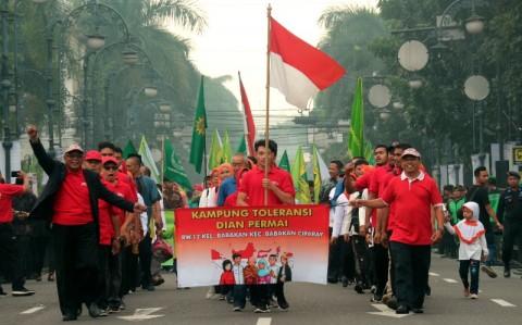 Parade Lintas Agama untuk Bandung Ramah Bersama