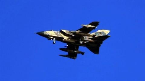 Jet Tempur Arab Saudi Jatuh di Yaman