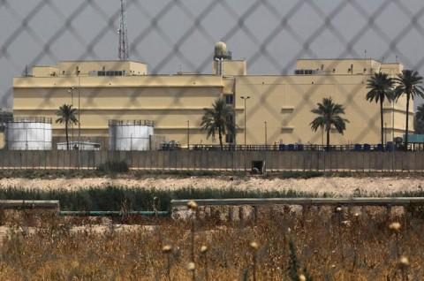 Ledakan Guncang Markas Koalisi AS di Baghdad