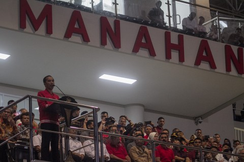 Jokowi Harap Stadion Manahan Bisa Digunakan untuk Piala Dunia U-20