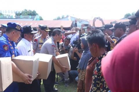 Polri Beri Bantuan Sosial untuk Warga Blora