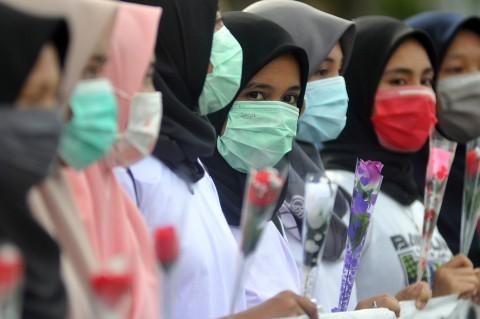 Mahasiswi di Padang Gelar Kampanye Anti Kekerasan Seksual pada Perempuan