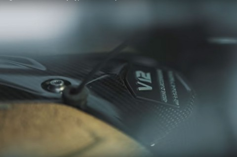 Raungan Mesin V12 Baru untuk Hypercar Lamborghini