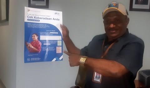 Papua Optimistis Lampaui Target Sensus Daring