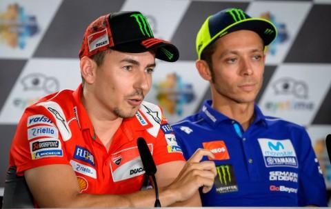 Bos Petronas Tertarik Pasangkan Rossi dan Lorenzo Musim Depan