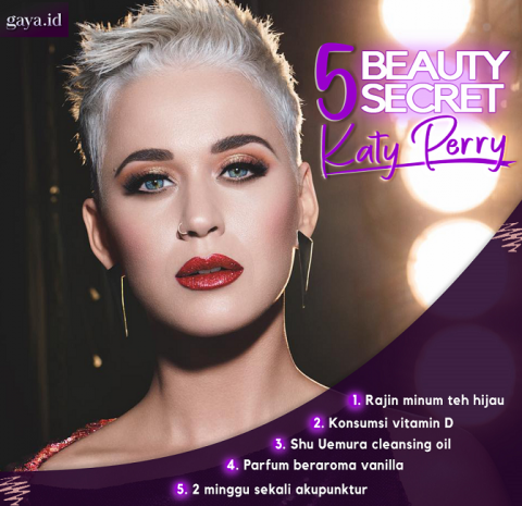 Rahasia Cantik Katy Perry
