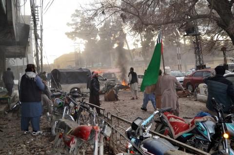 Bom Bunuh Diri di Pakistan Tewaskan 8 Orang