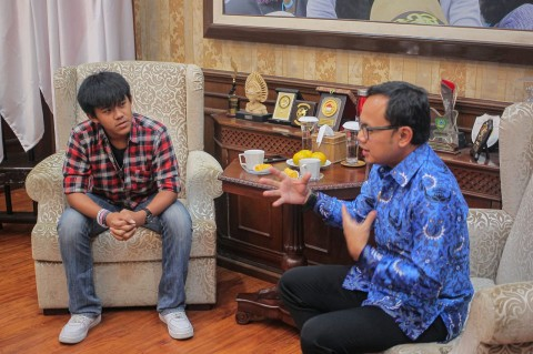 Bima Arya Sambut Mahasiswa Wuhan Asal Bogor