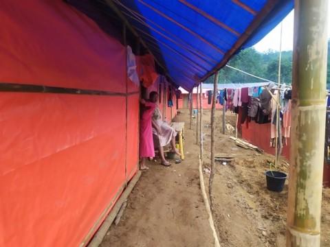Korban Longsor di Kabupaten Bogor Kesulitan Air