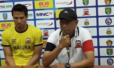 Coach RD: Strategi Madura United Bukan Coba-coba