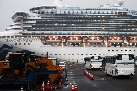 Jepang Rampungkan Pemeriksaan Korona di Diamond Princess