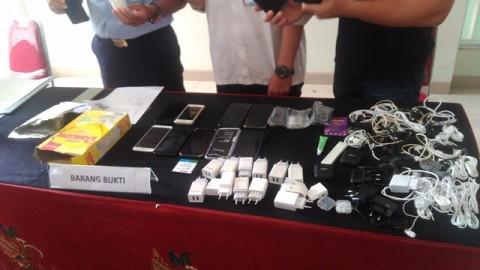 Petugas Kebersihan Selundupkan Narkoba dan Ponsel ke Lapas Banceuy