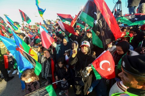Libya Rayakan 9 Tahun Tergulingnya Gaddafi