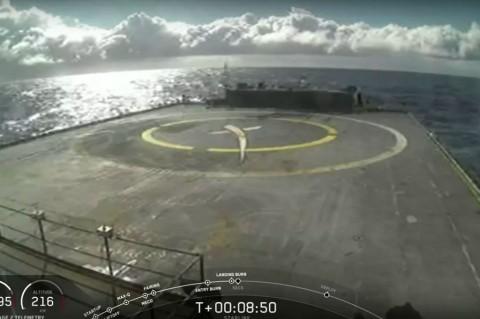 SpaceX Kehilangan Falcon 9 Setelah Sukses Luncurkan Starlink