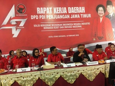 PDIP Target Menang di 13 Kota/Kabupaten Wilayah Jatim