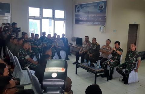 Panglima TNI Apresiasi Proses Evakuasi Helikopter MI-17