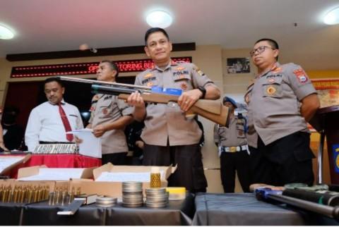 Komplotan Perakit Senjata Ilegal di Sulsel Ditangkap