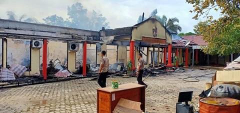 Mapolres Ogan Ilir Merugi Rp460 Juta Akibat Kebakaran