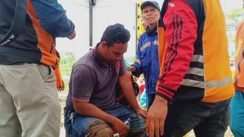 Operator Alat Berat Terluka Imbas Longsor di Tol Purbaleunyi