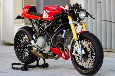 Ducati Monster S2R Anut Aliran Retro Klasik Cafe Racer
