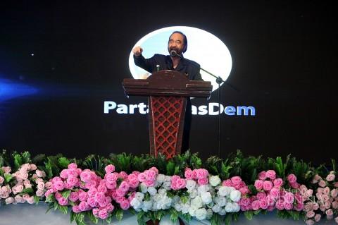 Surya Paloh Hadiri Pelantikan DPD NasDem Sumatera Utara