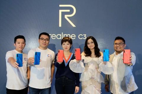 realme C3 Resmi Meluncur di Indonesia
