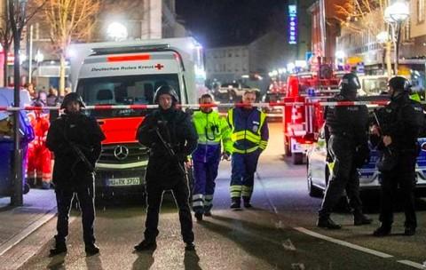 Delapan Orang Tewas dalam Penembakan di Bar Jerman