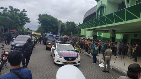 Naik Rantis, Skuat Persija Tiba di Stadion Gelora Delta Sidoarjo