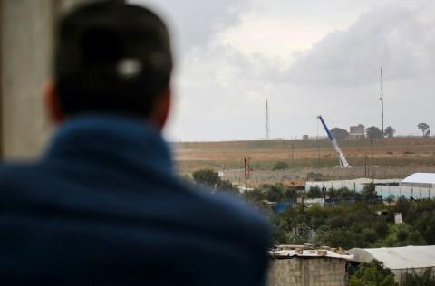 Mesir Bangun Tembok Sepanjang Perbatasan Jalur Gaza