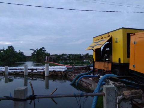Banjir di Tanggulangin Sidoarjo Berstatus Tanggap Darurat