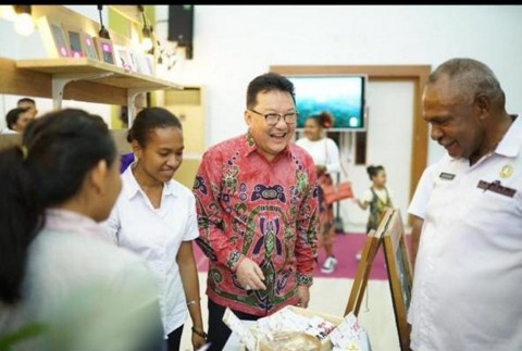 Prudential Bantu Pemberdayaan Pengusaha Muda Papua