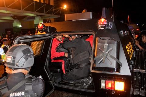 Pemain Persija Tinggalkan Stadion Naik Barracuda