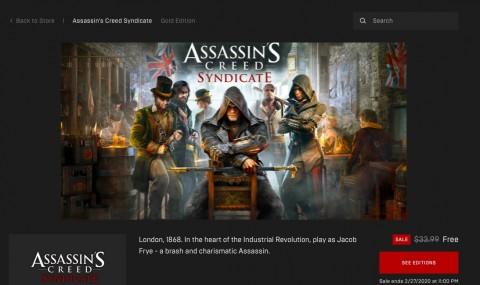 Game Assassin's Creed Syndicate Gratis Hari Ini!