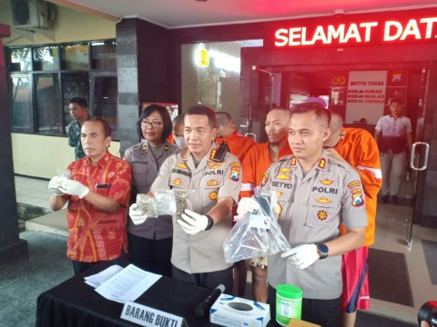 Dua Mahasiswa PTN Edarkan Ganja di Malang